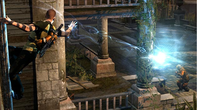 inFamous 2 - Cole on Pole - Image
