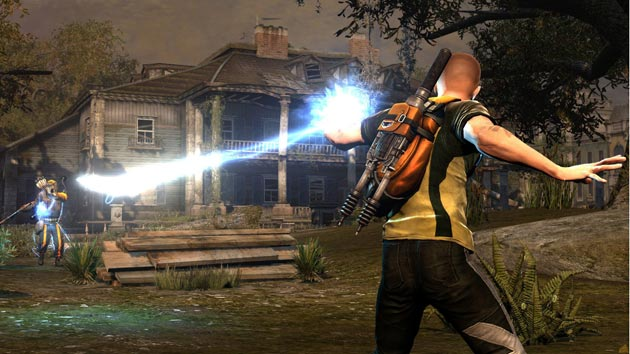 inFamous 2 - Cole at House - Image