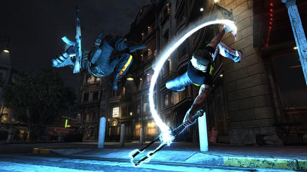 inFamous 2 - Cole Backflip - Image