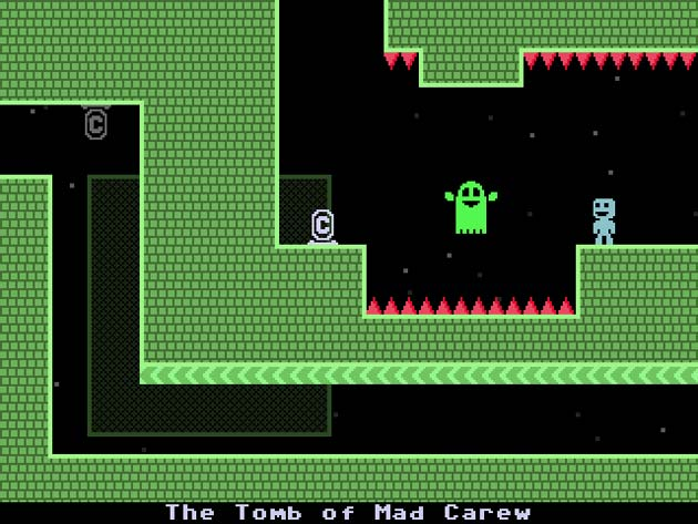 VVVVVV 3DS Screenshot